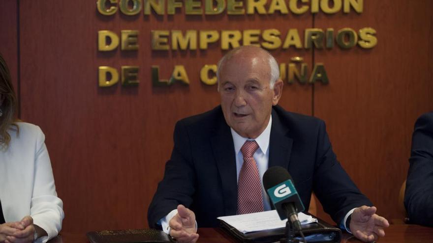 Los empresarios coruñeses respaldan a Arias como presidente de la CEG