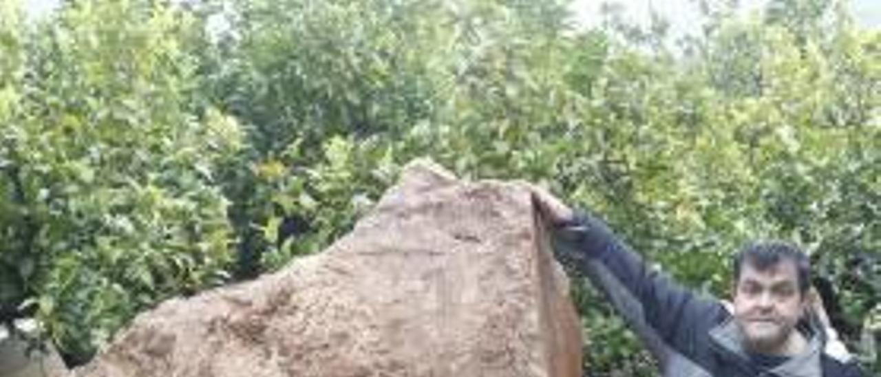 La intensa lluvia condicionó el alud de piedras de la Casella