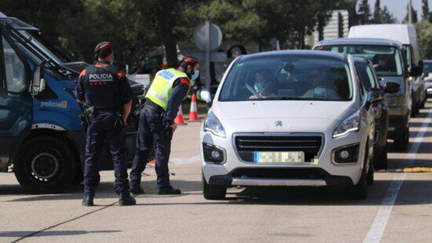 5.330 sancions de dijous a dilluns per incomplir les restriccions per la Covid