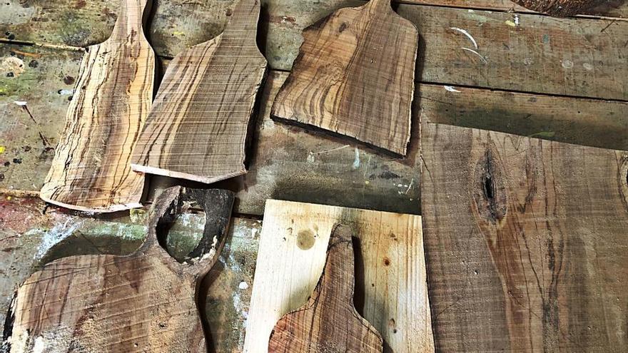 Holz mit Seele von der Mallorca-Finca