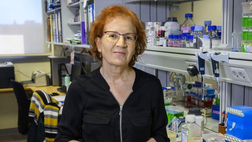 La prestigiosa investigadora, Margarita del Val