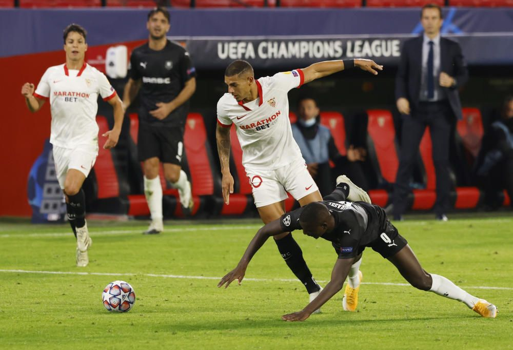 Chamions League: Sevilla - Rennes
