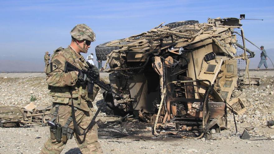 Un soldado de EEUU en Afganistán en una foto de archivo.