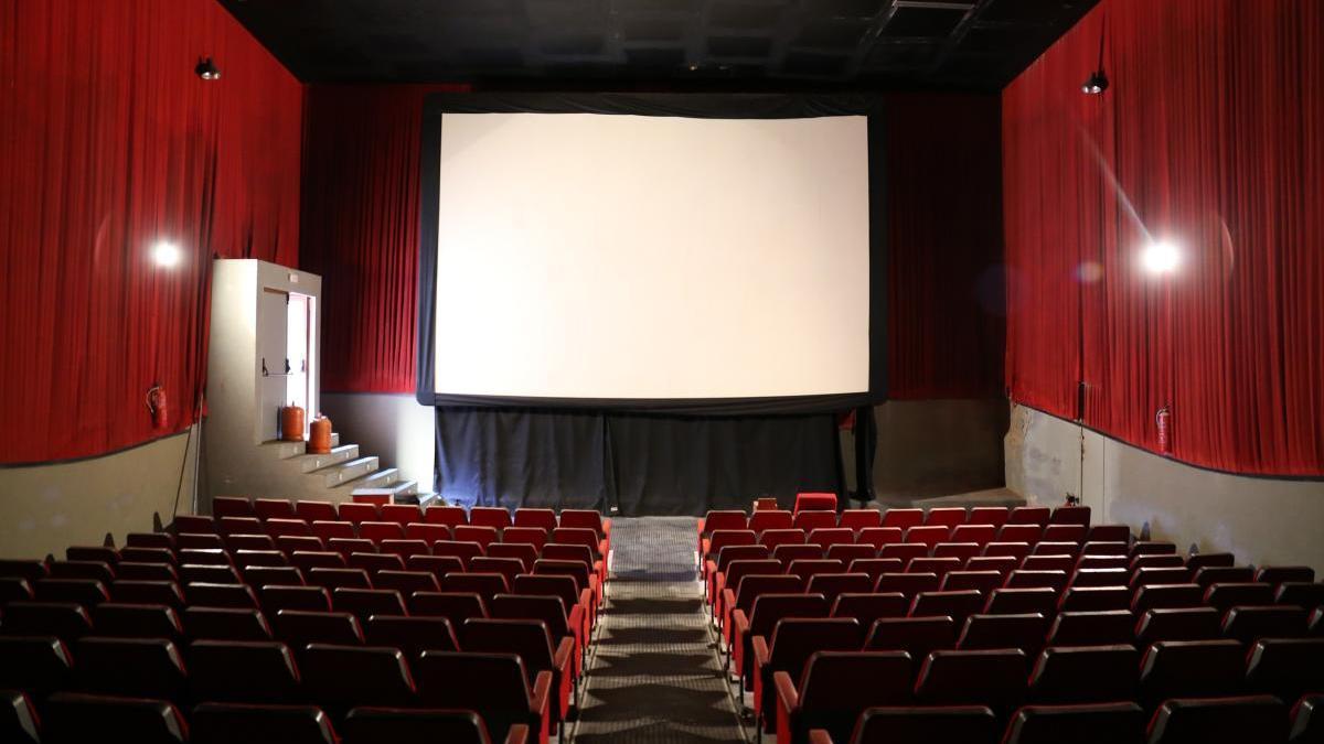 Una de les sales del cinema Las Vegas.