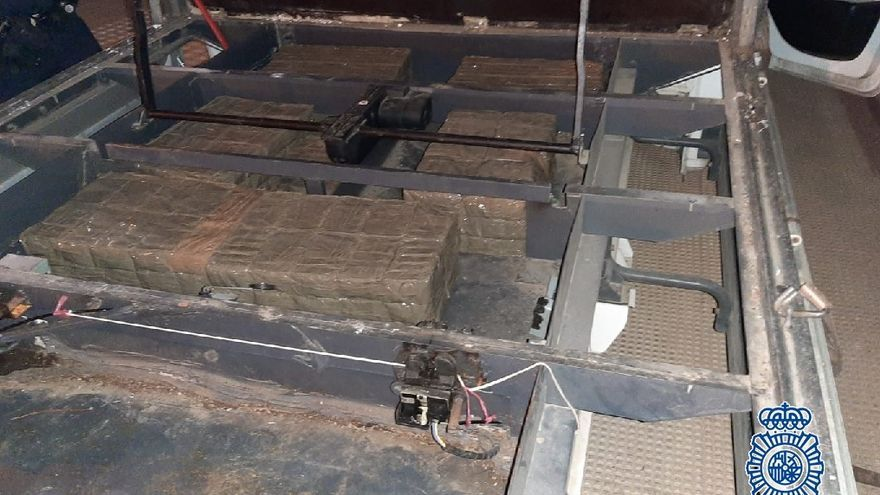 Desarticulada en Marbella una organización criminal dedicada al tráfico de hachís