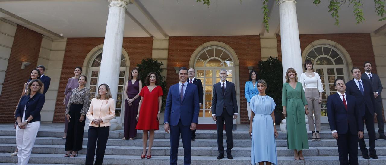 Foto de familia ministros