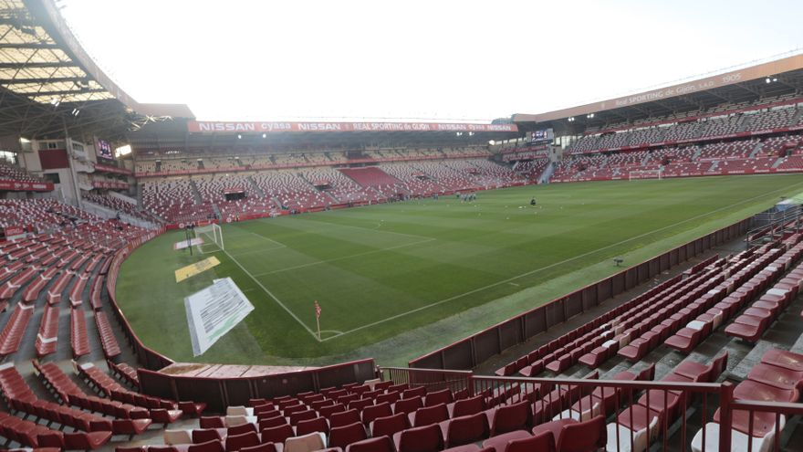 El Sporting podrá contar con público para la final ante el Almería