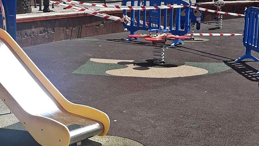 Parques infantiles de Vallehermoso