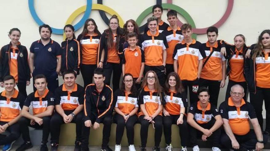 El CTO Oliva organiza la primera jornada autonómica en la que suma siete podios
