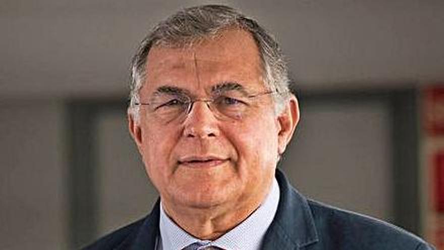 El presidente de la Autoridad Portuaria de Santa Cruz de Tenerife, Carlos González.