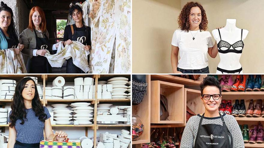La nueva artesanía gallega: de zocos y ecoprint a lencería erótica de lujo