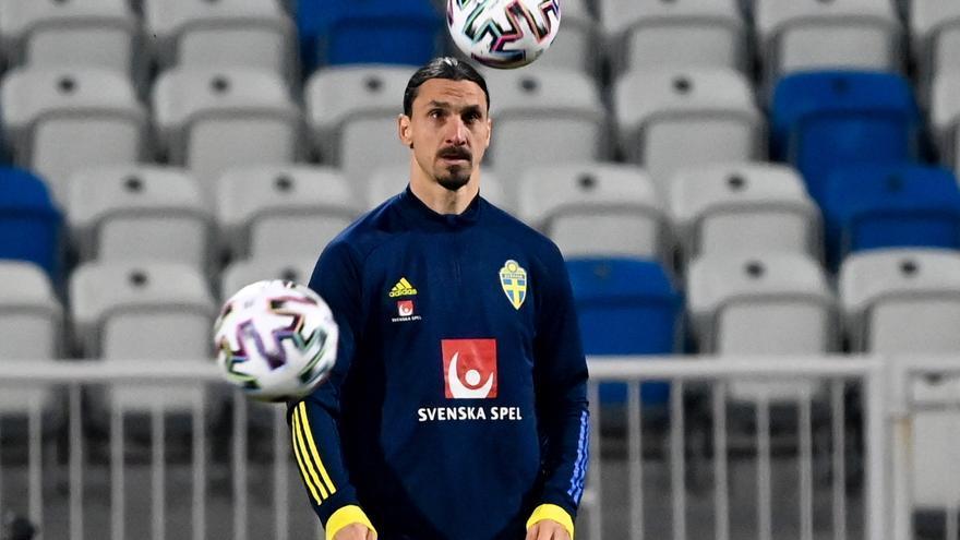 Ibrahimovic se pierde la Eurocopa por una lesión de rodilla