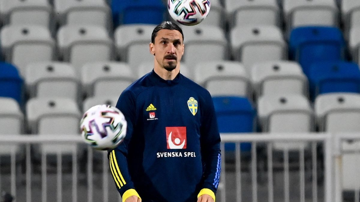 Ibrahimovic, baja para la Eurocopa.