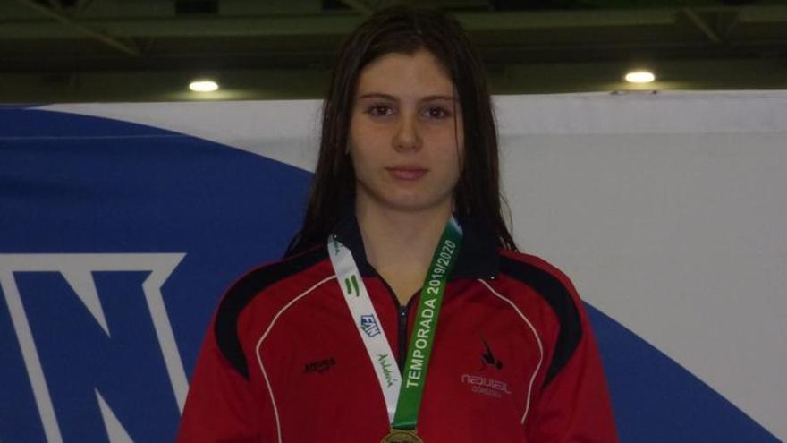 Mely Ruiz logra una plata nacional infantil por equipos