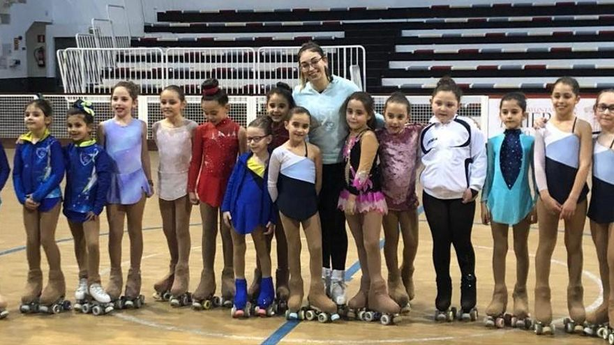 """Más de medio centenar de patinadores en la III Tecnificación """"Principado de Asturias"""""""