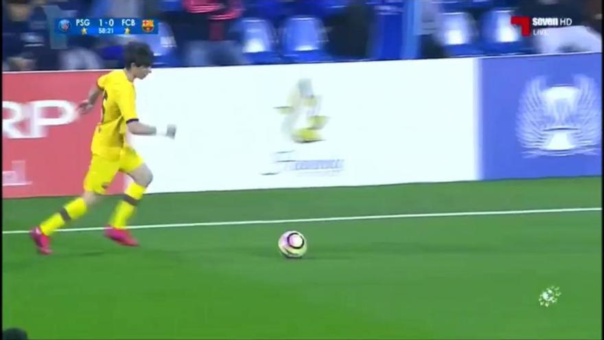 El santfruitosenc Jan Oliveras deixa el Barça per fitxar per l'AS Roma