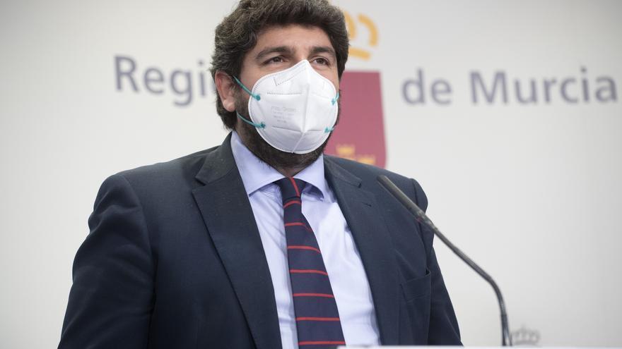 En directo | Miras anuncia las restricciones que habrá en Murcia cuando finalice el estado de alarma