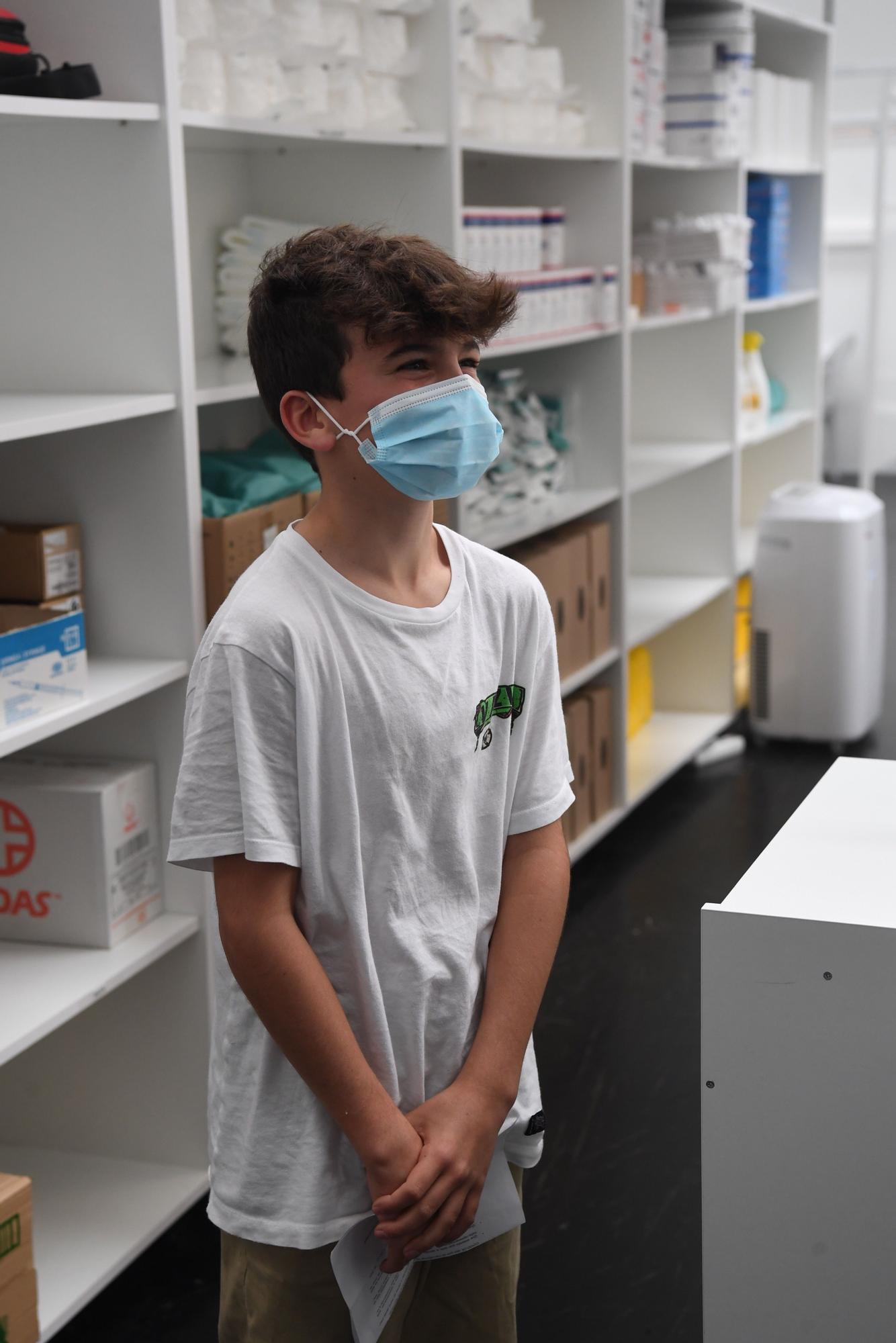 Última vacuna en Expocoruña