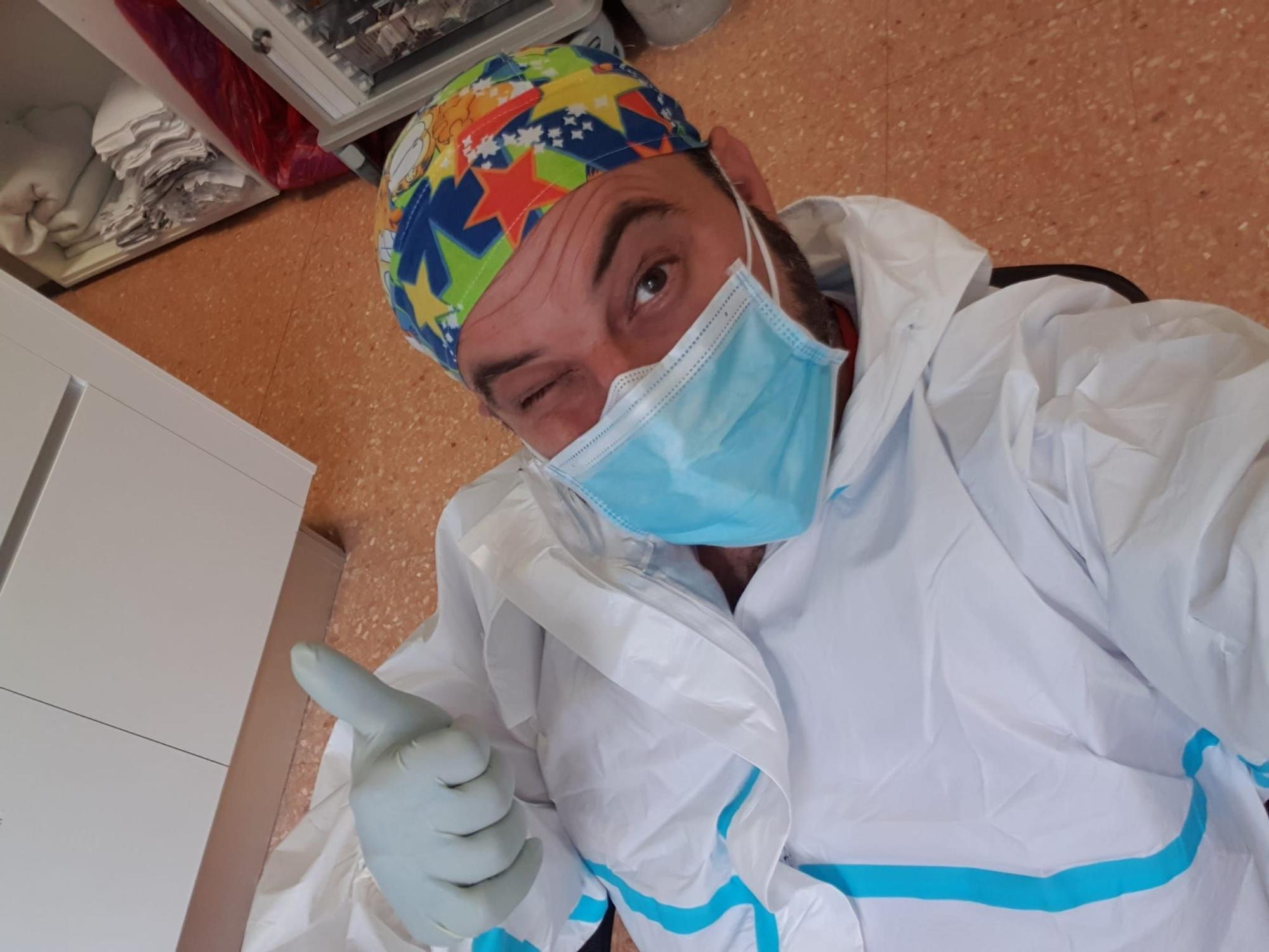 El mundo de las Fallas participa en la lucha contra la pandemia desde el sector sanitario