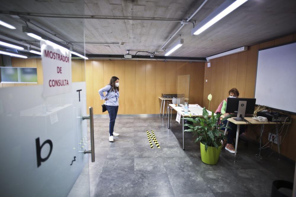 Desescalada en Asturias: La biblioteca de Oviedo reabre sus puertas