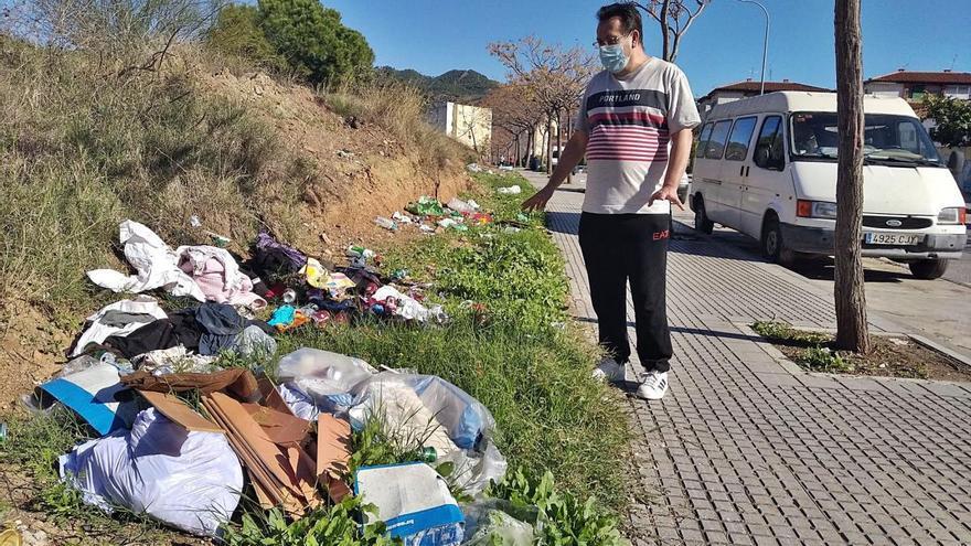 Calle Werther, la de la basura para la eternidad
