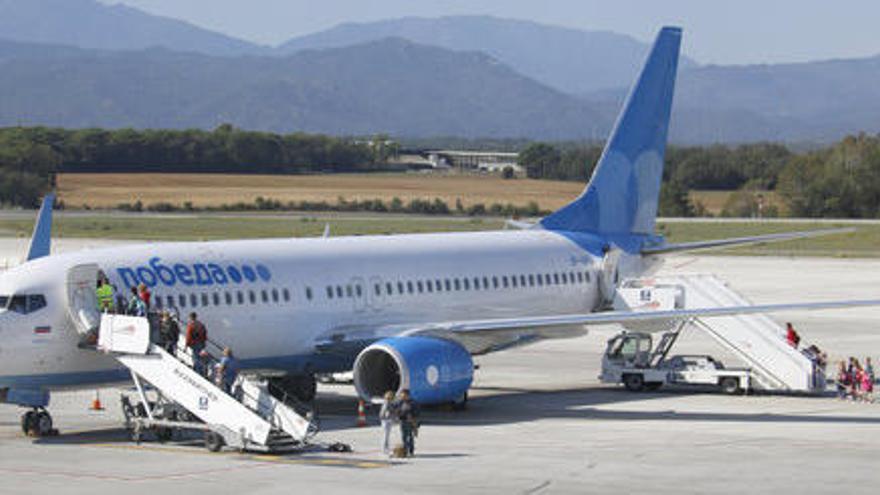 L'aeroport de Girona opera 105 vols privats amb motiu del Gran Premi de Fórmula 1