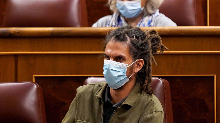 Unidas Podemos se querellará contra Batet por quitarle el escaño a Alberto Rodríguez