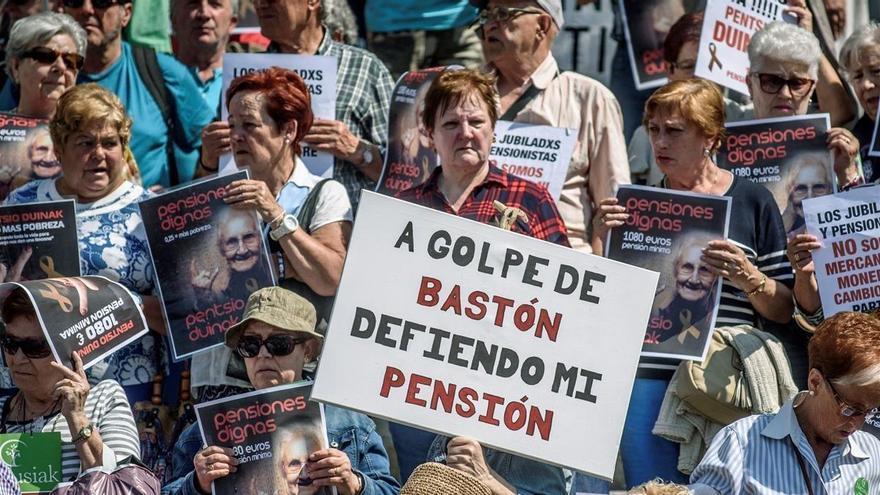 Los pensionistas retomarán las movilizaciones si el Gobierno no resuelve sus reivindicaciones