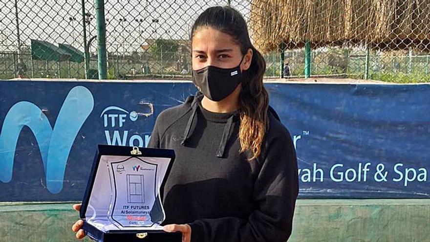 Jéssica Bouzas ya está entre las 750 mejores del mundo