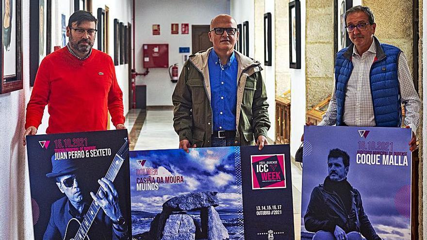 Coque Malla y Juan Perro, en el programa de la ICC Week