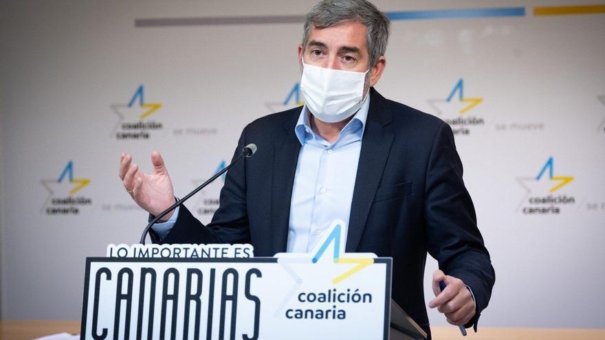 """Clavijo avisa a Torres: """"Coalición Canaria va a subir revoluciones"""""""