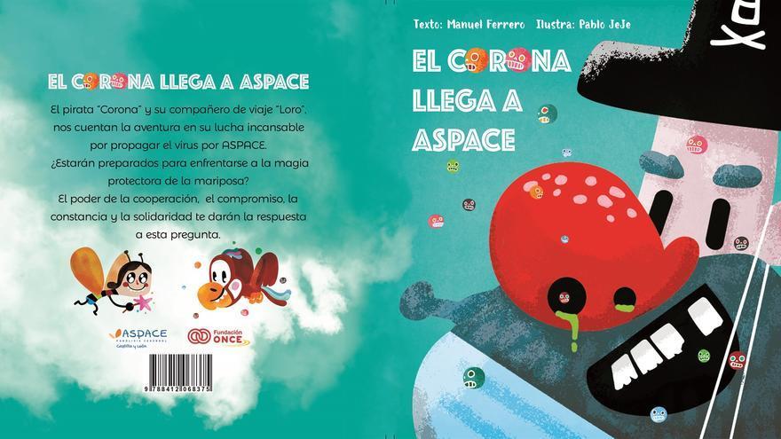 Aspace lanza el cuento del pirata Corona para recaudar fondos contra el COVID