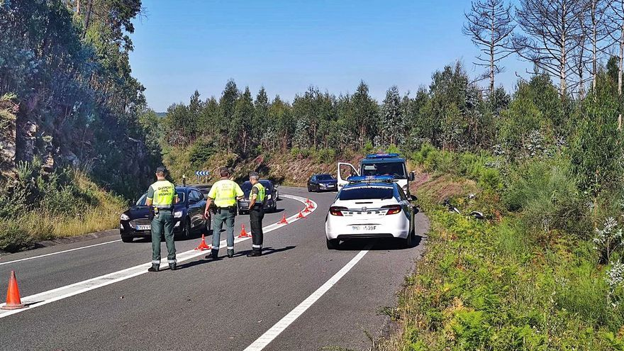El Guardia Civil muerto en su moto se salió en una curva cuando se dirigía a un accidente en la AP-9