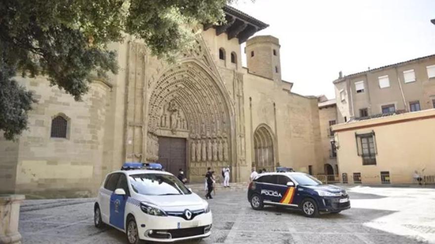 Huesca prepara un dispositivo policial especial para el último partido de la Liga
