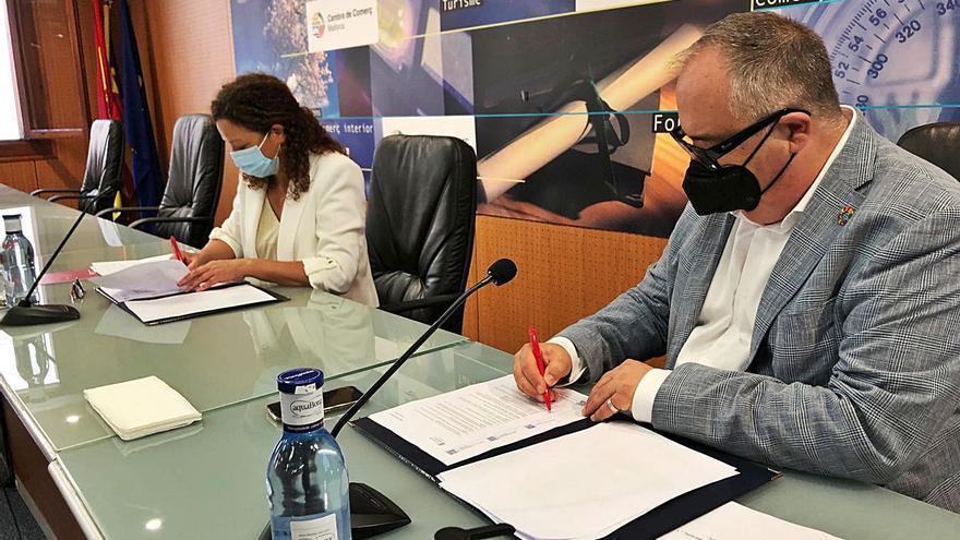 Consell de Mallorca y Cámara de Comercio impulsan una oficina para proyectos europeos