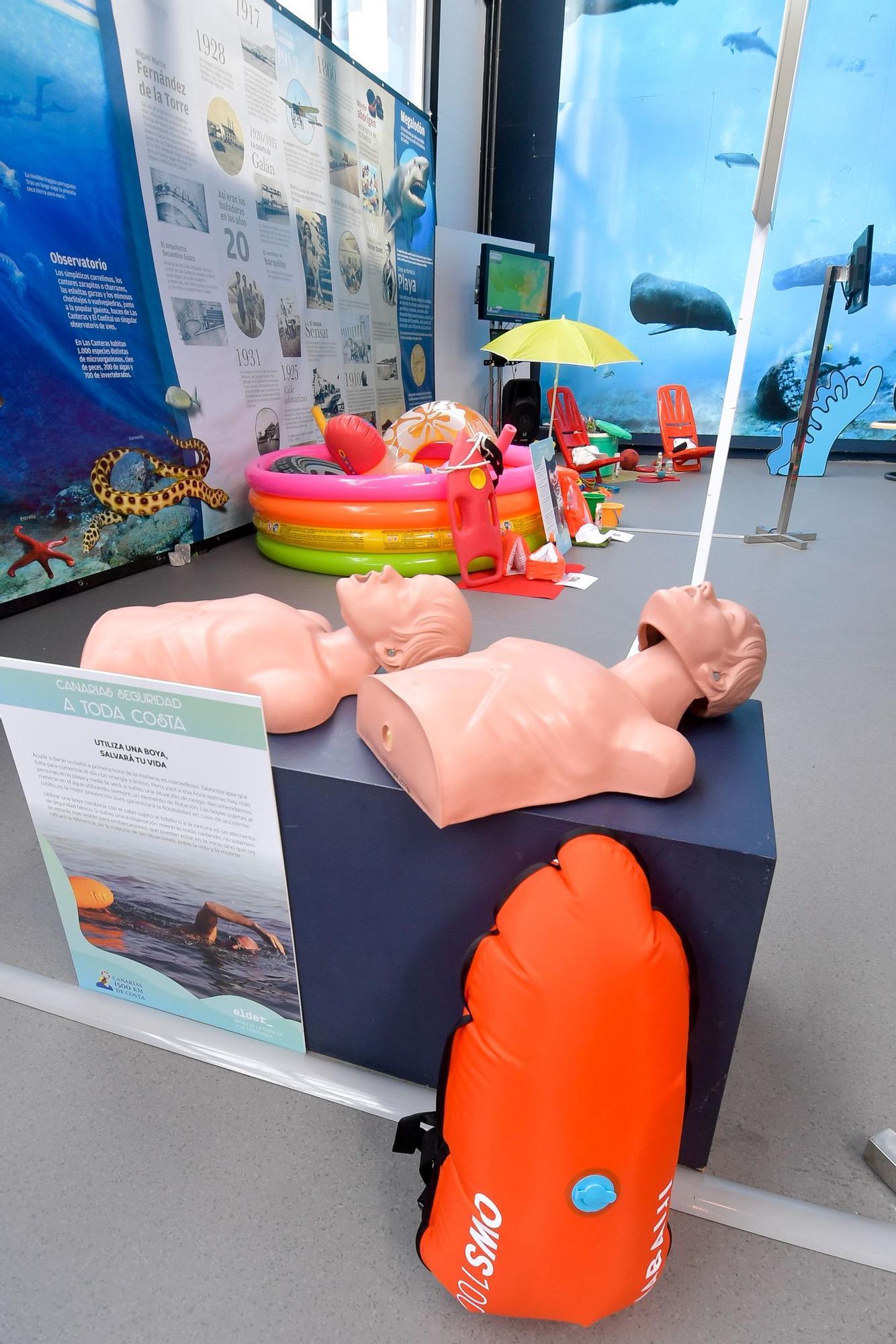 Exposición 'Playas Inteligentes, Entorno Seguro' en el Museo Elder de la Ciencia y la Tecnología