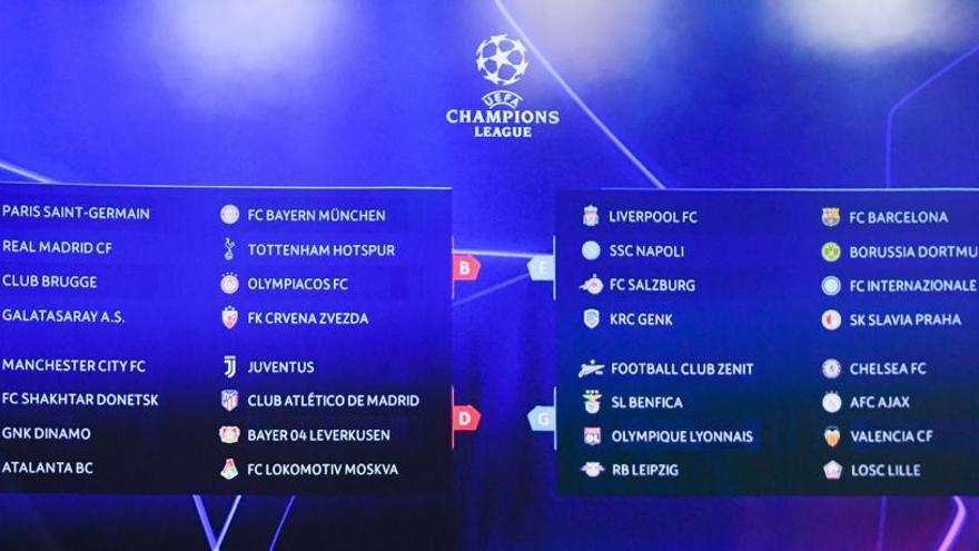 Los partidos de estreno de los equipos españoles