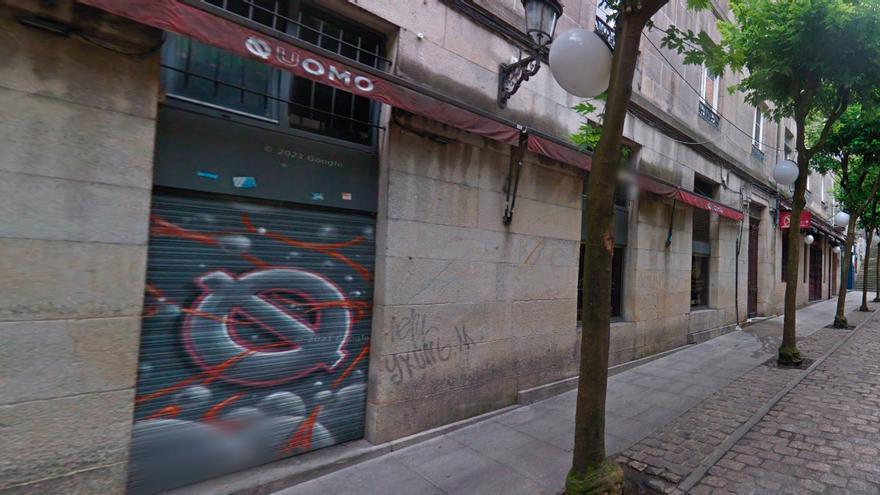 Detenido tras amenazar de muerte a varias personas en un pub de Vigo