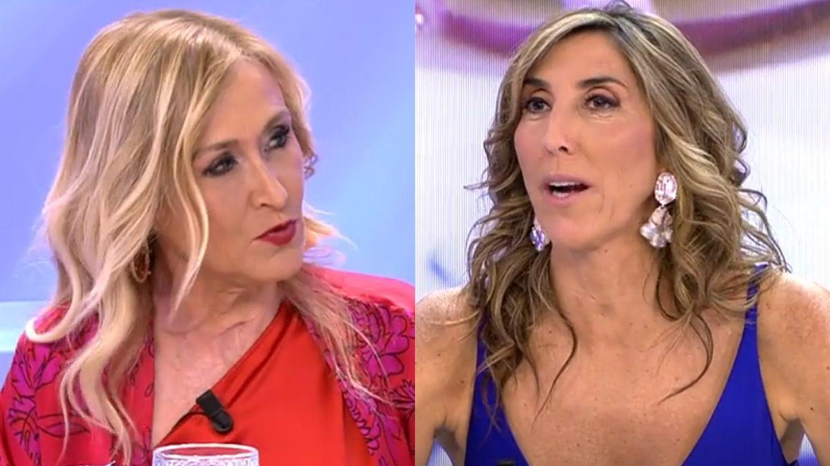 Cristina Cifuentes y Paz Padilla.