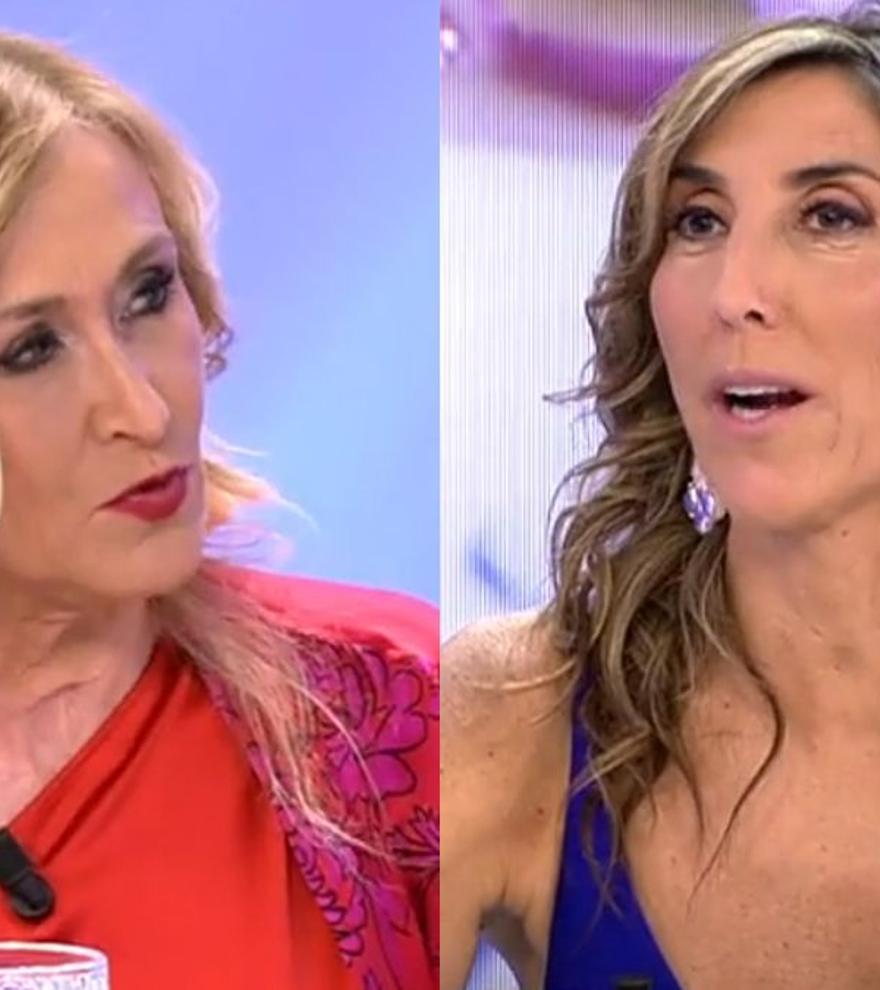 """Paz Padilla pone en aprietos a Cifuentes en 'La última cena': """"Tiene un máster... Bueno, en comida"""""""