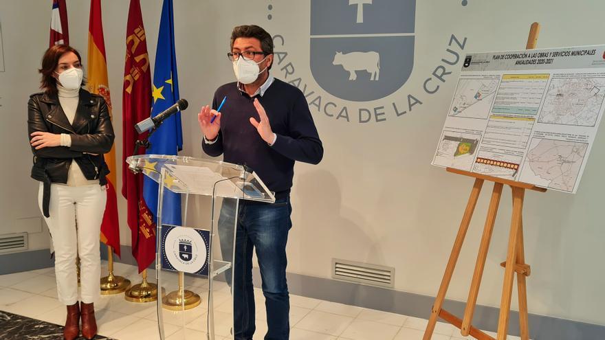 El Plan de Obras y Servicios en Caravaca tendrá un presupuesto cercano a los 500.000 euros