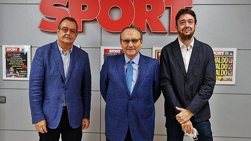 """Albert Sáez, nuevo director del diario deportivo """"Sport"""""""