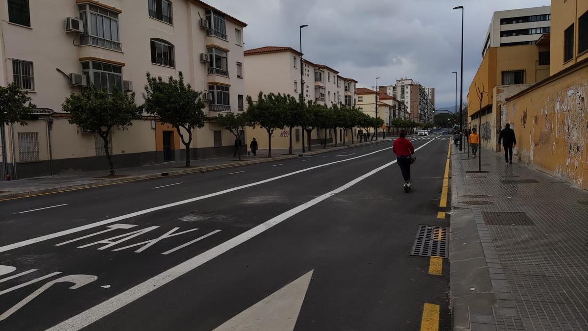 Abren al tráfico la avenida Doctor Marañón de Málaga capital