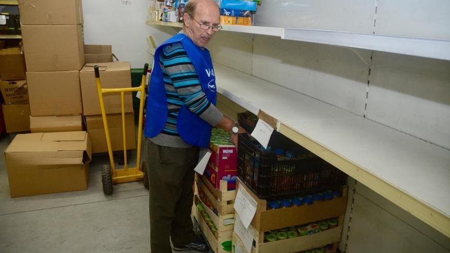 El Banco de Alimentos de Pontevedra, al límite por la inmigración de venezolanos