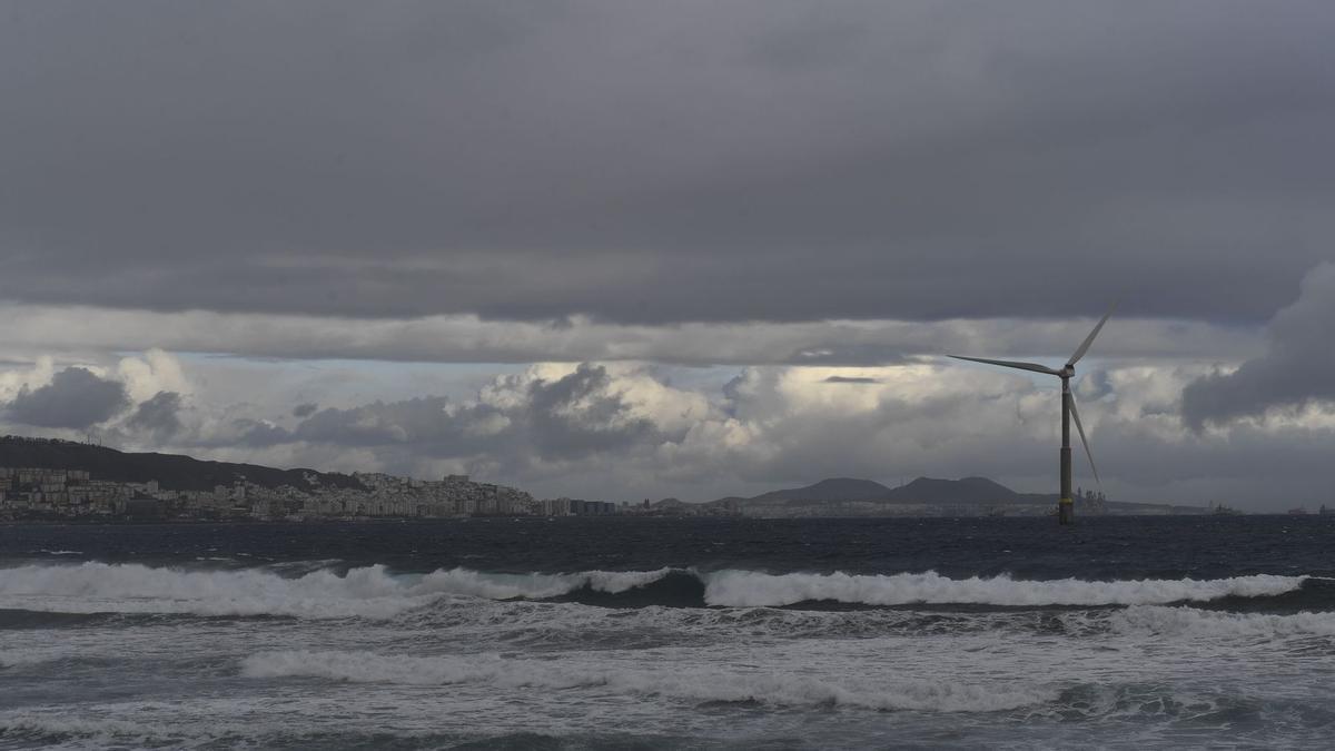 El efecto de la borrasca esta semana en Las Palmas de Gran Canaria.