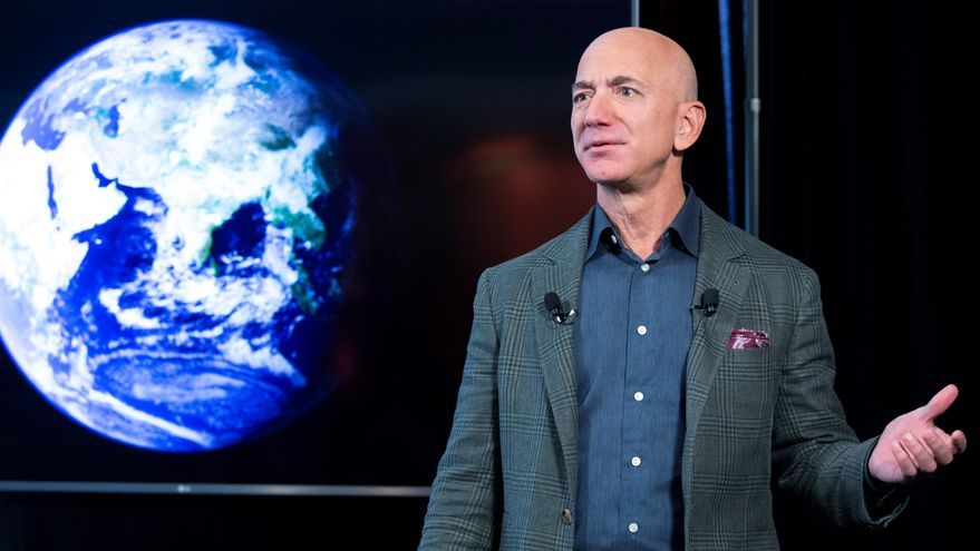 Jeff Bezos viaja al espacio