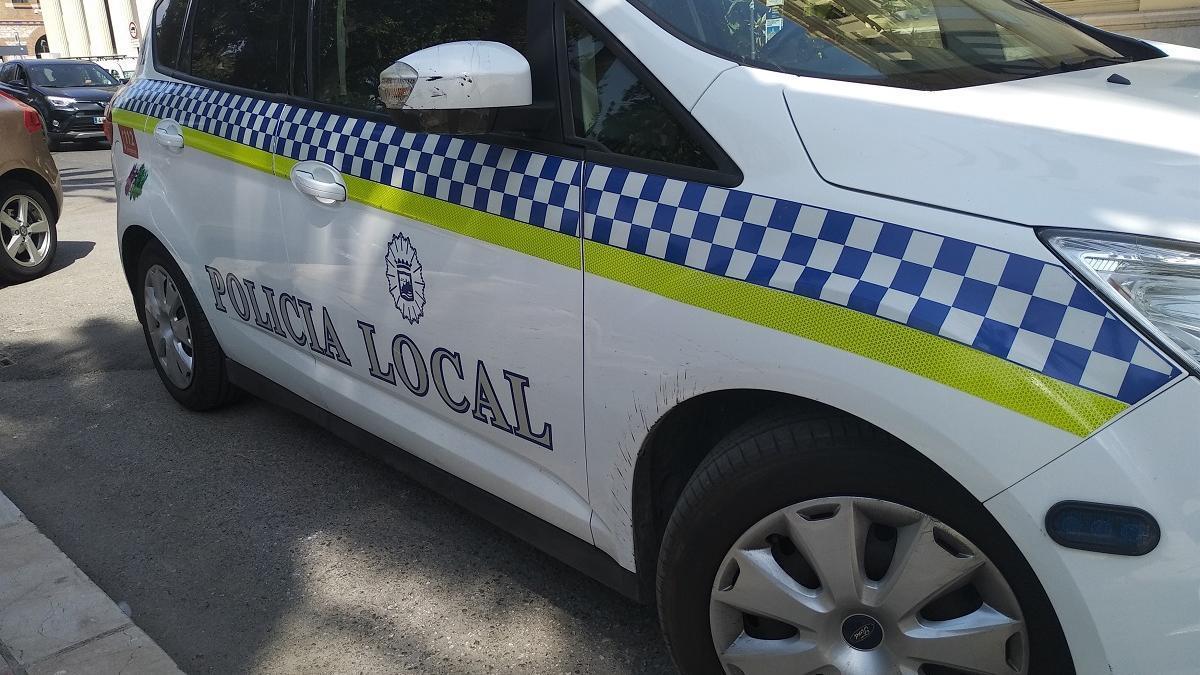 Un coche de la Policía Local.