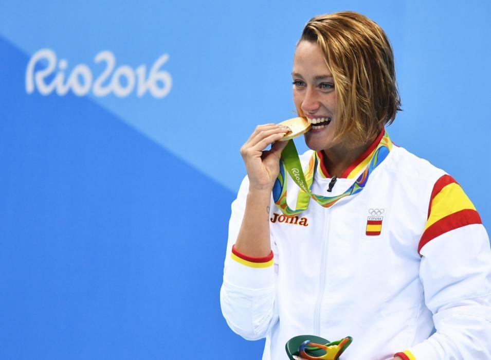 Mireia Belmonte: Oro en natación 200m mariposa