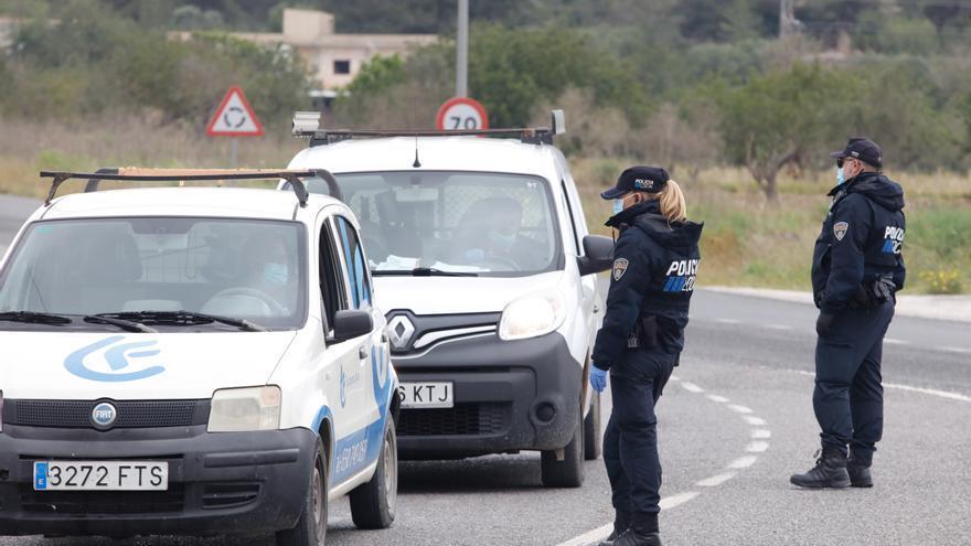 Denunciados 31 conductores por superar el límite de velocidad en una avenida de Ibiza