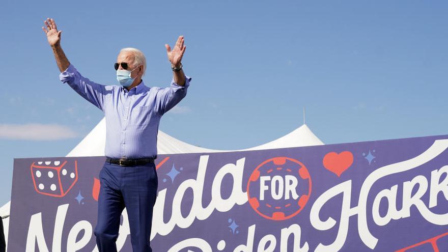 Greta Thunberg pide el voto para Joe Biden